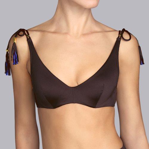 Andres Sarda Swimwear - WILSON - wire bikini top Front