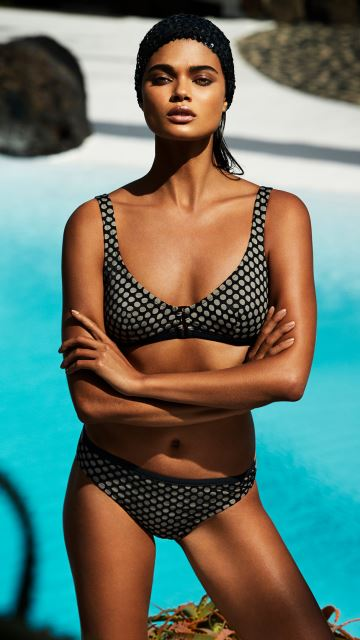Swimwear WAKAYA black