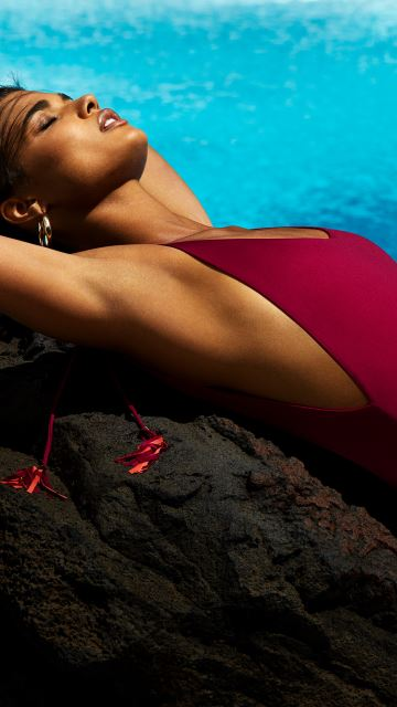 Swimwear WILSON deep red