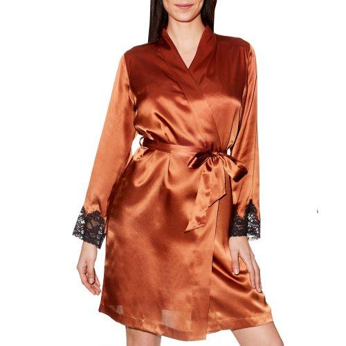 Aubade - CREPUSCULESATIN - kurzes Kleid Front