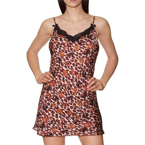 Aubade - WILD AUDACITY - jurk met spaghetti bandjes Front