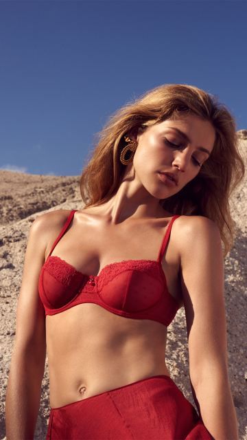 Lingerie ELLE Red