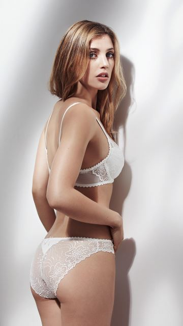 Lingerie JANE white