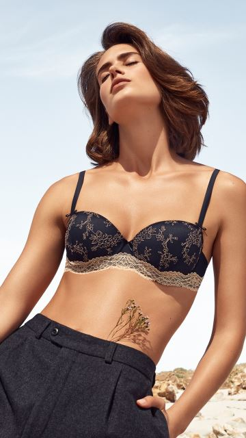 Lingerie KIRSTEN midnight blue