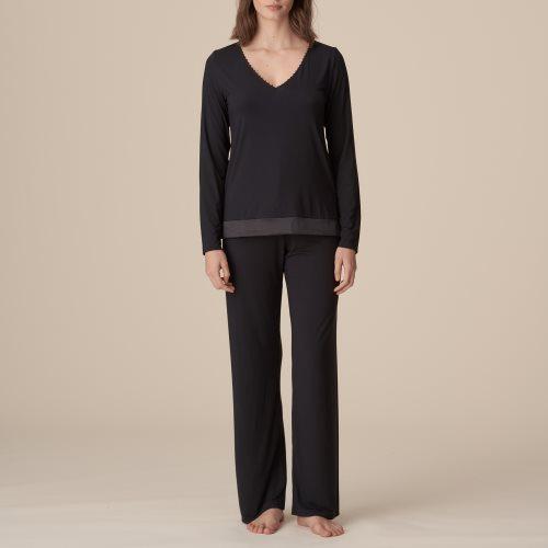 Marie Jo - PEARL - pyjama lange mouw Front