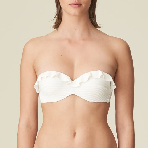 Marie Jo Swim - CELINE - strapless bikini top Front