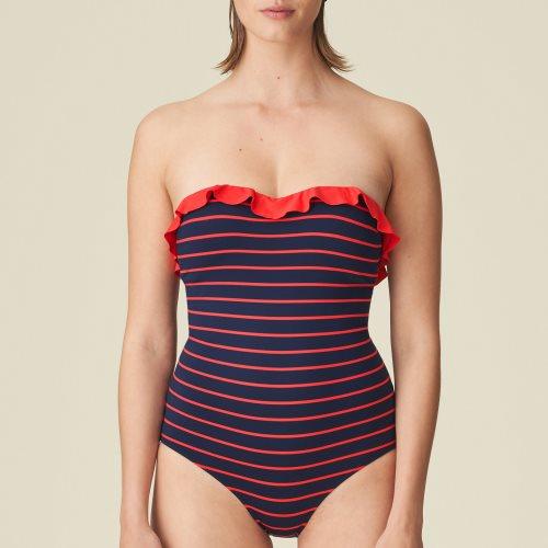 Marie Jo Swim - CELINE - strapless swimsuit Front