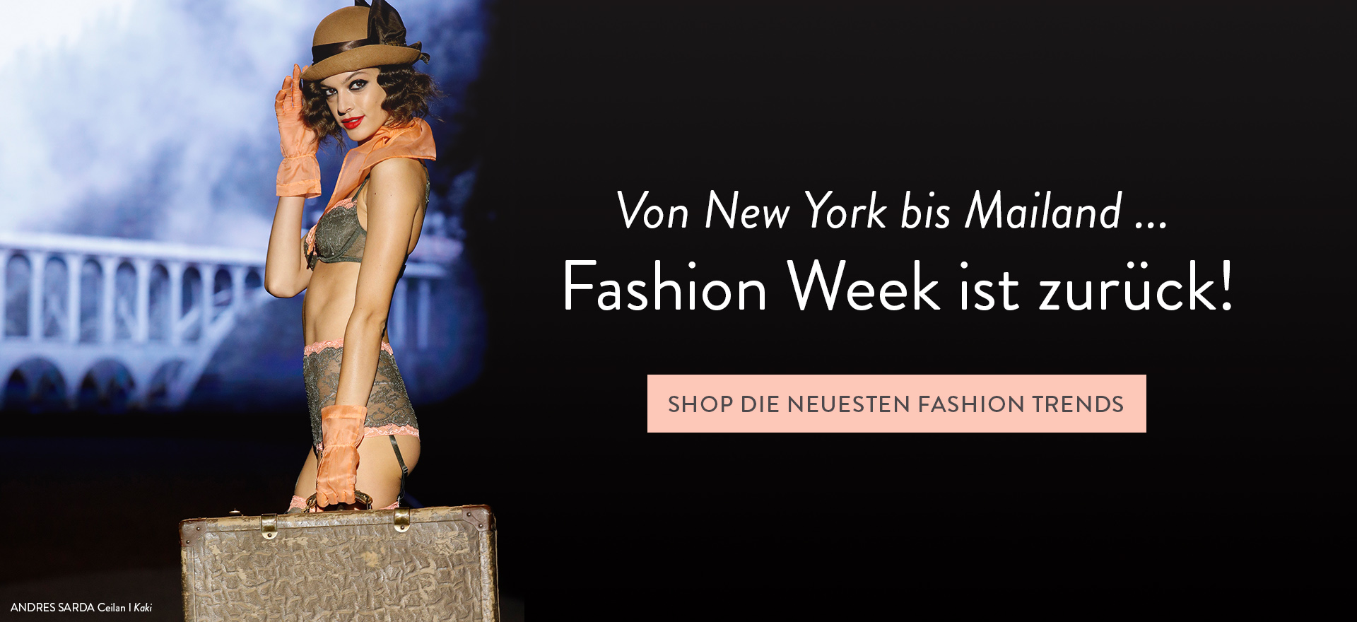 SHOP FASHION WEEK KOLLEKTION