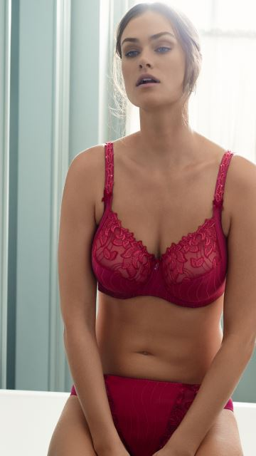 Lingerie DEAUVILLE Persian Red