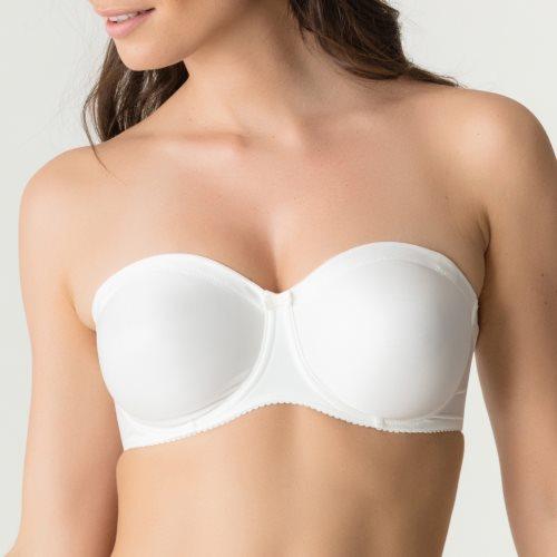 PrimaDonna - SATIN - strapless bra Front