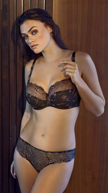 Lingerie MYSTIC FIELDS fumy grey