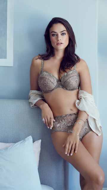 Lingerie ORIENTAL NIGHT smokey sand