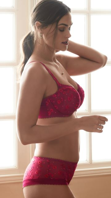 Lingerie RAY OF LIGHT Persian Red