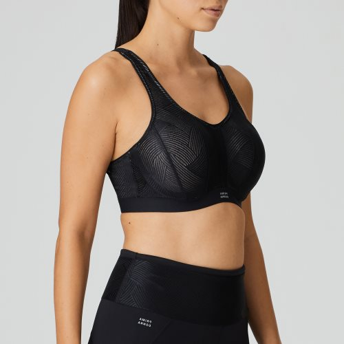 PrimaDonna Sport - THE GAME - padded bra sport Front2