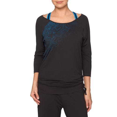 PrimaDonna Sport - THE WORK OUT - top with sleeves Front