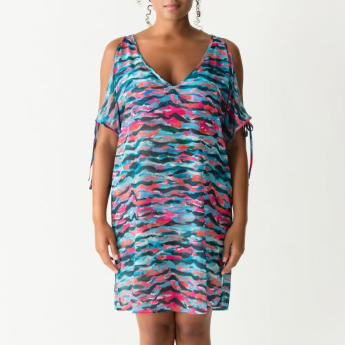 PrimaDonna Swim - NEW WAVE - jurk Front