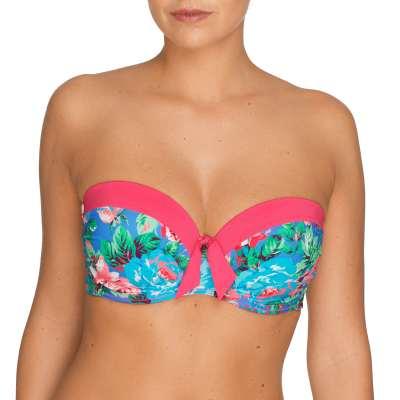 PrimaDonna Swim - strapless bikini Front3