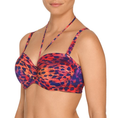PrimaDonna Swim - SUNSET LOVE - strapless bikini front4