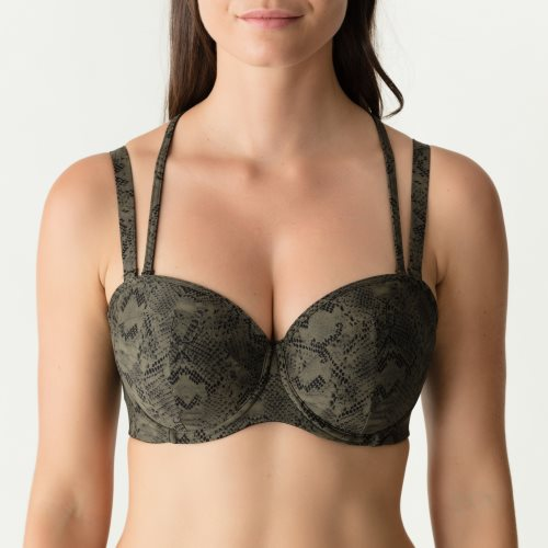 PrimaDonna Swim - FREEDOM - strapless bikini top Front