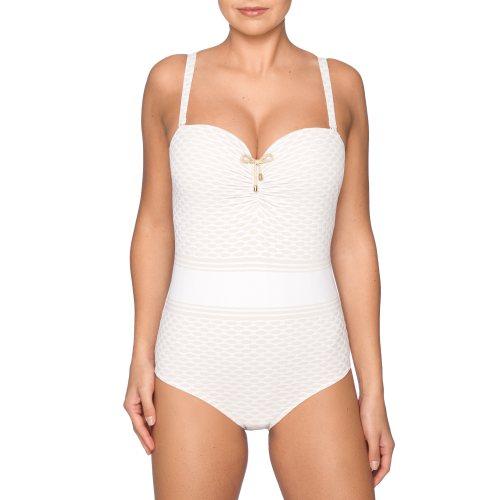PrimaDonna Swim - SALSA - strapless swimsuit Front