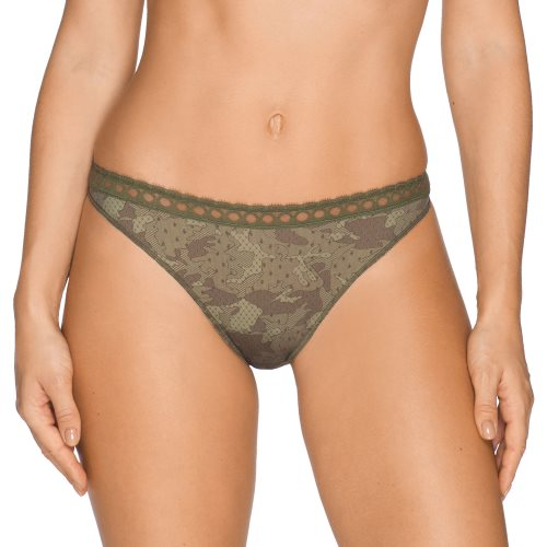 PrimaDonna Twist - RAINFOREST - thong Front