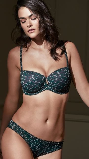 Lingerie MUSE Green Fir