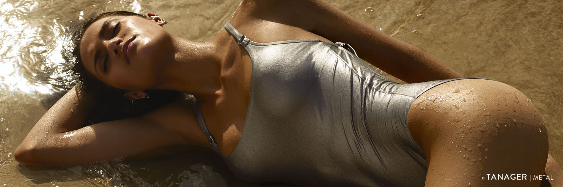 Andres Sarda Swimwear Tanager metallic