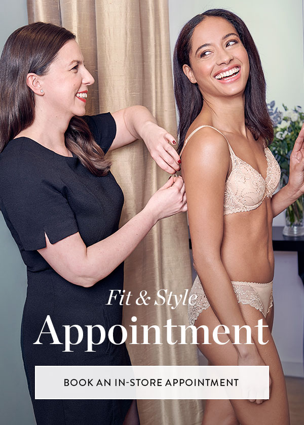 Book a lingerie styling appointment today