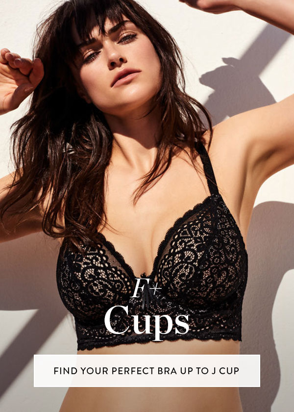 Shop DDD+ / F+ / Full Cup Bras