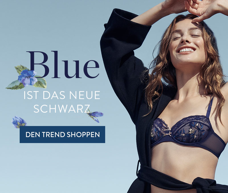 Bleu is the new black