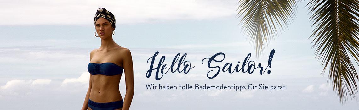 Hello Sailor! Wir haben tolle Bademodentipps für Sie parat