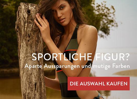 Sportliche Figur - Aparte Aussparungen und mutige Farben