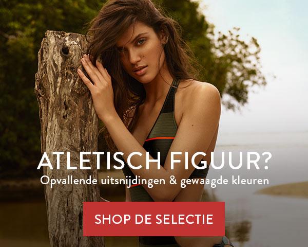 Atletisch Figuur - Vrolijke prints en versieringen