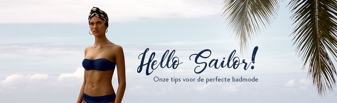 Hello Sailor! Onze tips voor de perfecte badmode