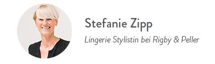 Stefanie Zipp, Lingerie Stylistin bei R&P