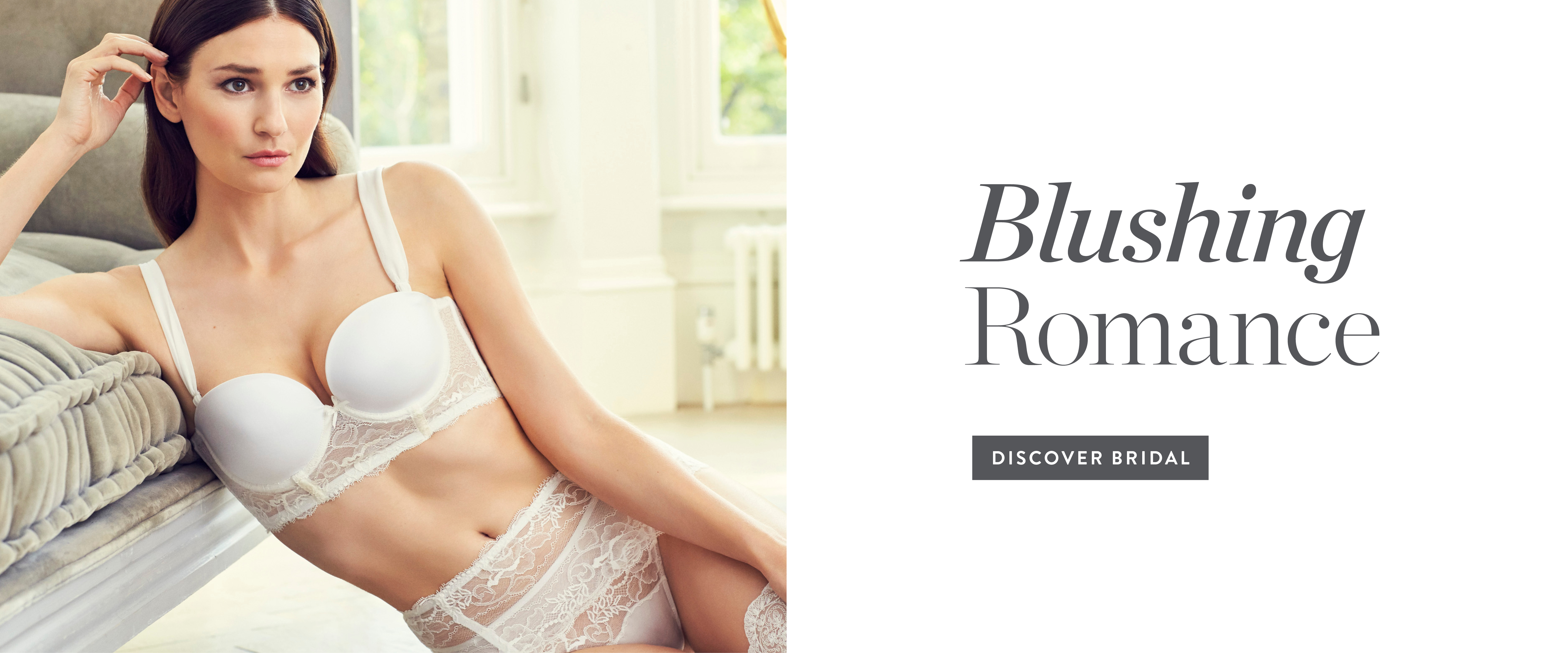Getting married or know someone who is? Discover our Bridal lingerie and tips for the big day | Rigby and Peller Bridal lingerie