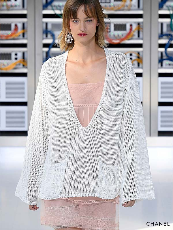 Being Zen Catwalk inspiration: Chanel