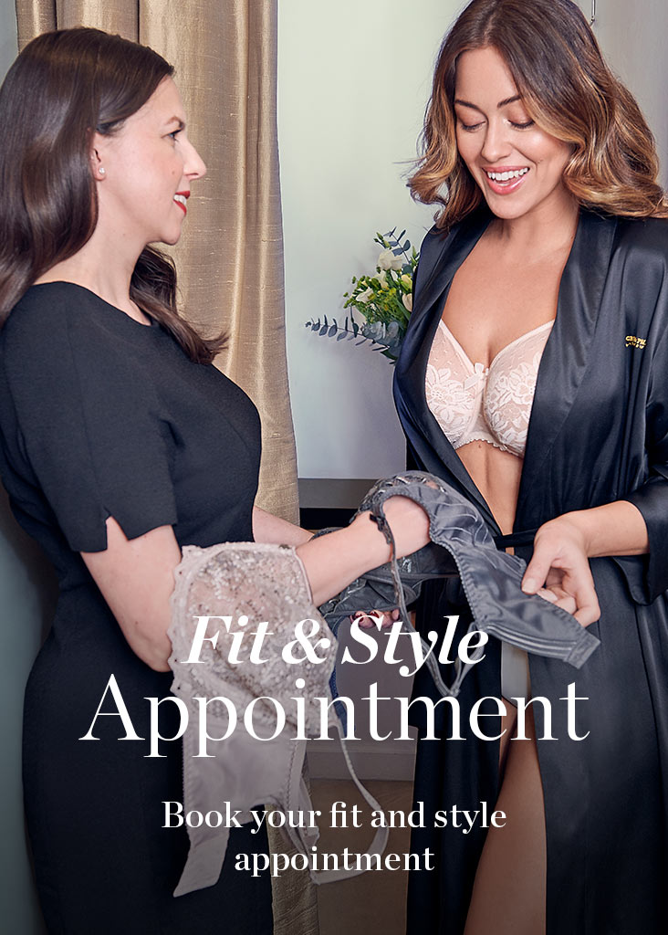 Book an Appointment with a Lingerie Stylist