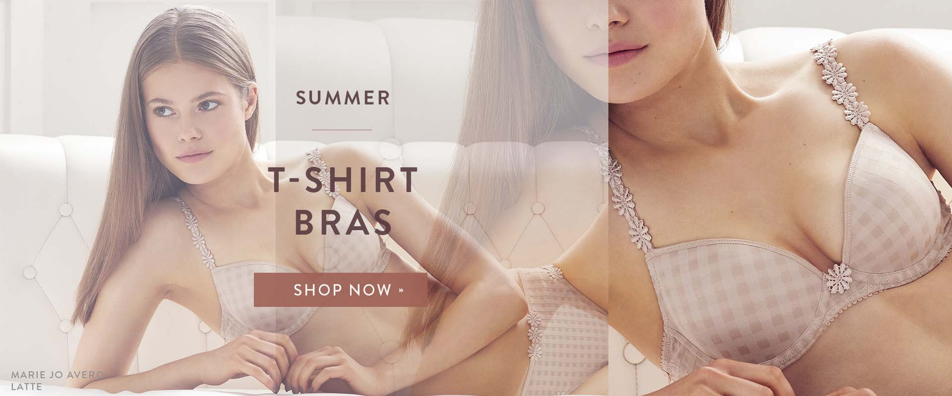 Summer style | Get summer ready with our t-shirt bra Edit
