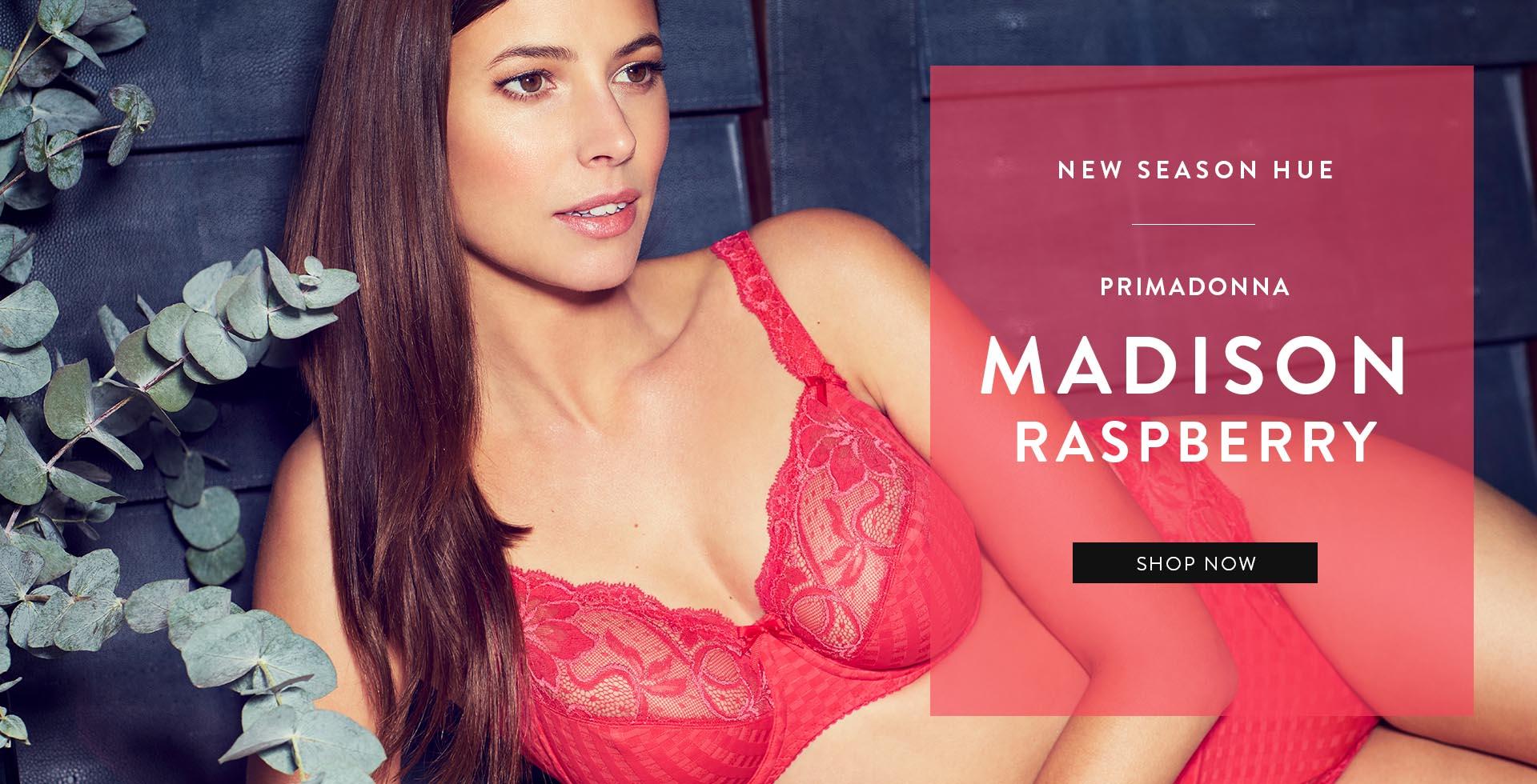 Shop Rigby & Peller's Primadonna Madison Bra in Raspberry