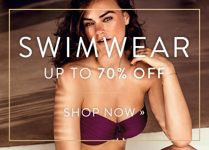 Swimwear up to 70% off