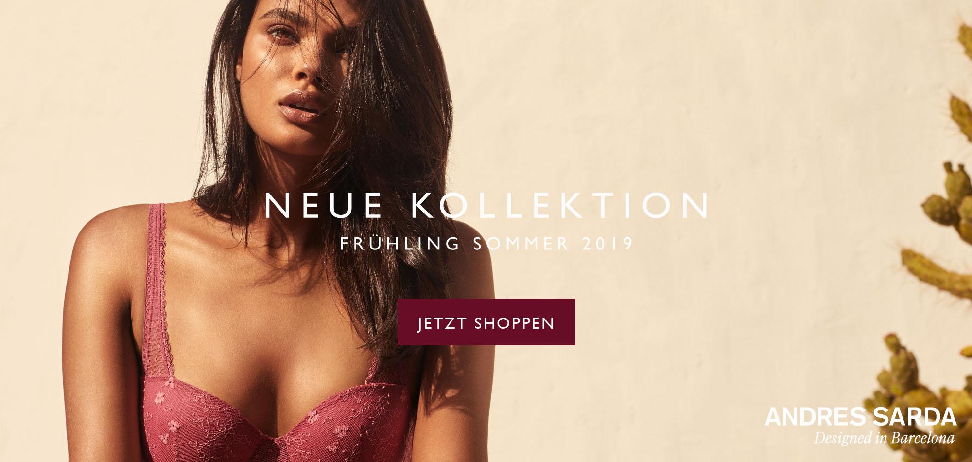 Neue Kollektion Frühling Sommer 2019