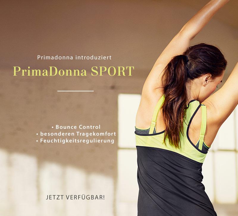 PrimaDonna SPORT teaser banner SS2017