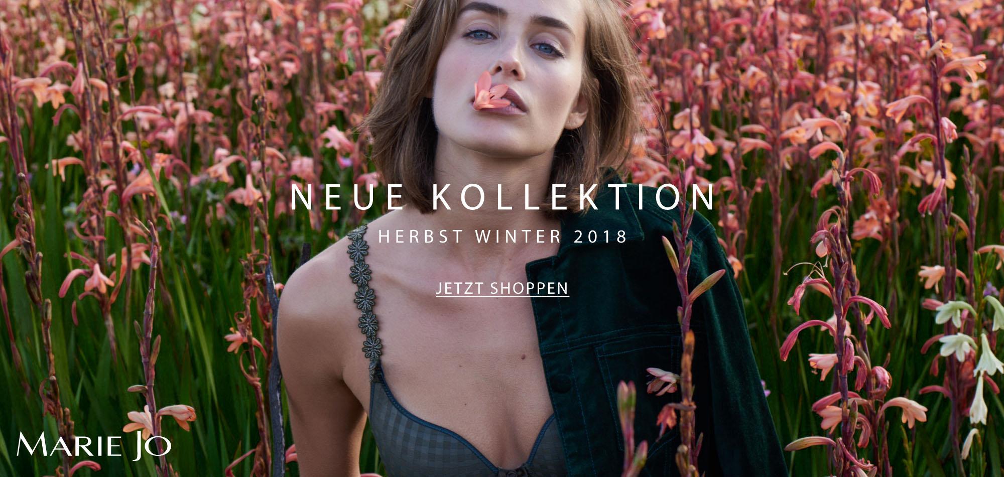 Neue Kollektion Herbst Winter 2018 Marie Jo