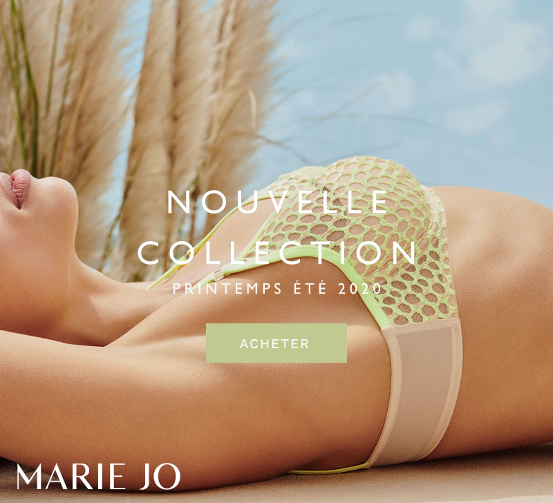 Marie Jo Nouvelle Collection Printemps Été 2020