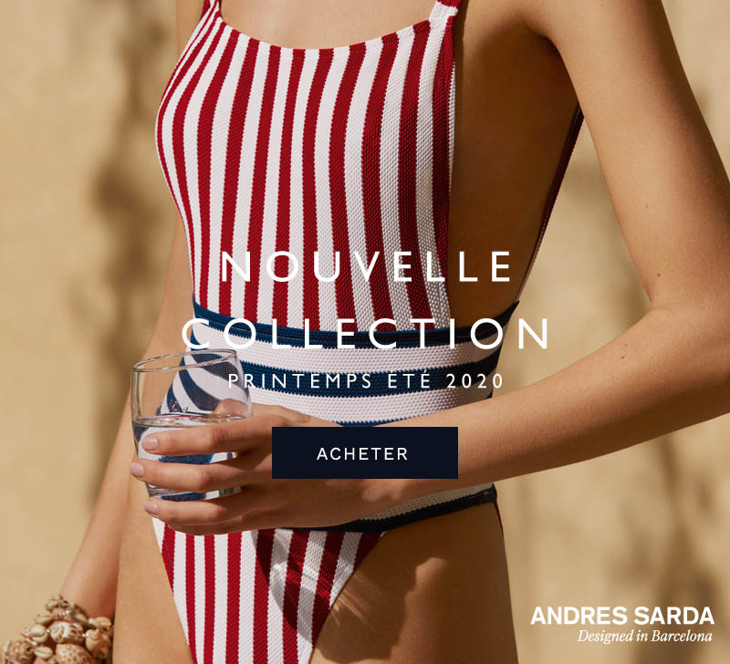 Andres Sarda Nouvelle Collection Printemps Été 2020